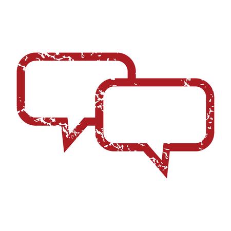 red grunge: Red grunge conversation