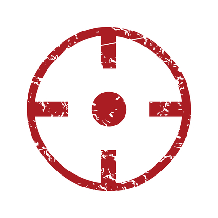 purpose: Red grunge purpose