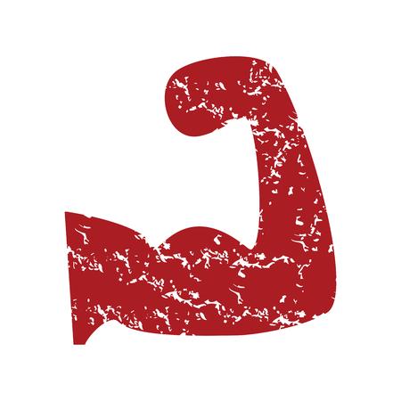 brawn: Red grunge brawn