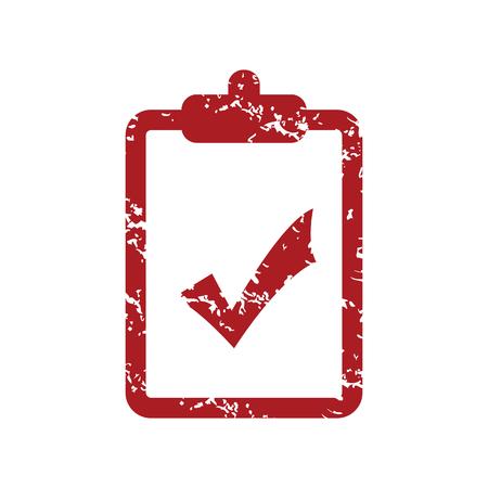 red grunge: Red grunge list yes