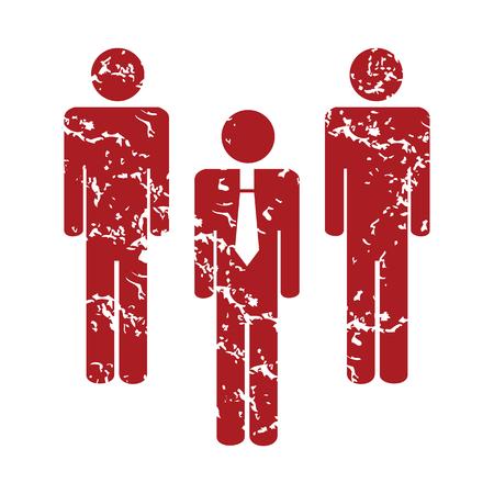 red grunge: Red grunge working team