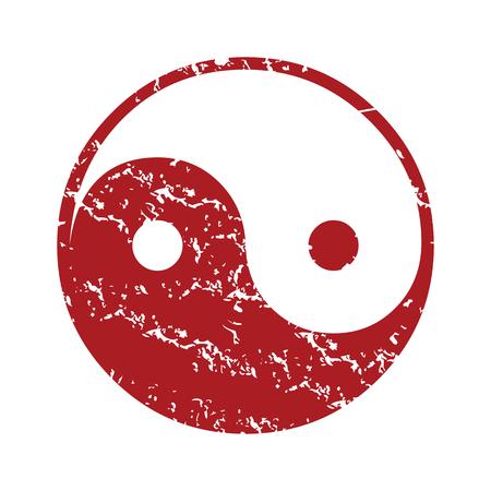 taoisme: Red grunge Taoïsme