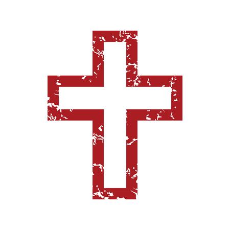 cristianismo: Red grunge Cristianismo