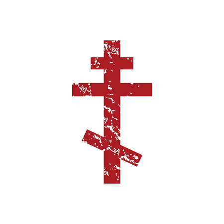 Red grunge orthodoxy