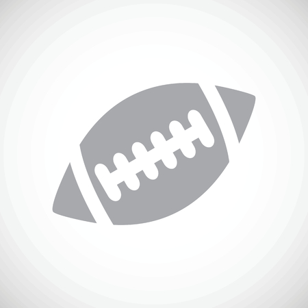 inflated: Football black icon Illustration
