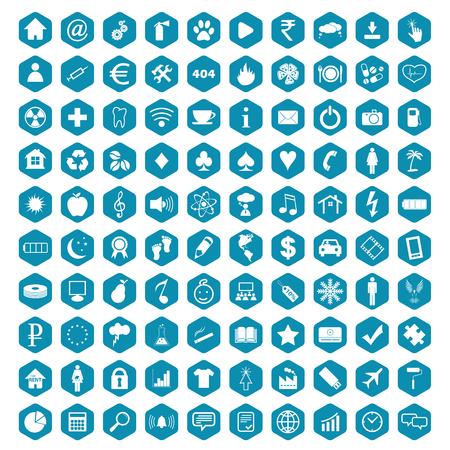 Big rhombus set vector Vector