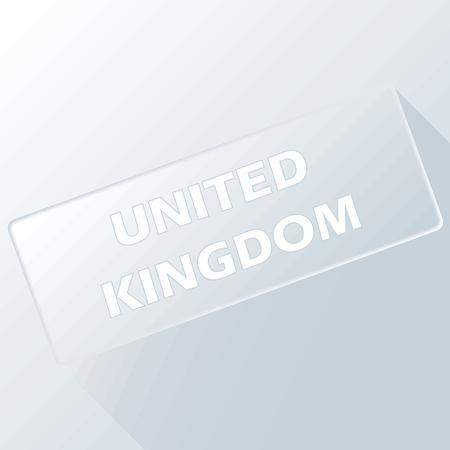 kingdom: United Kingdom unique button