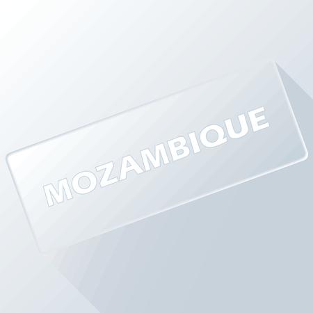 mozambique: Mozambique unique button