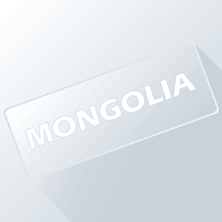 mongolia: Mongolia unique button