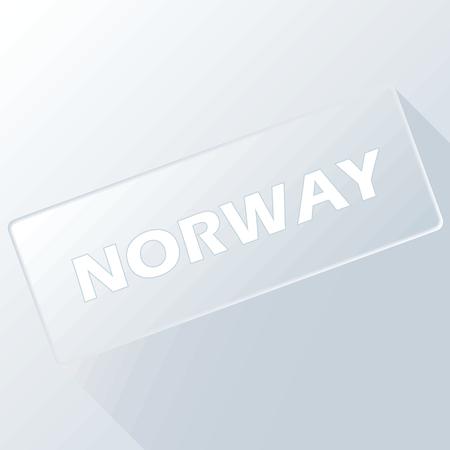 norway: Norway unique button