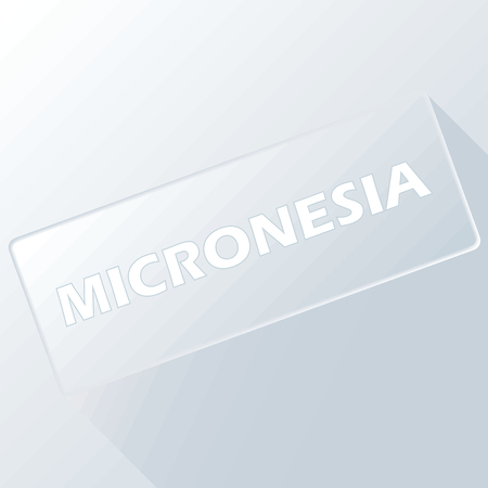 micronesia: Micronesia unique button
