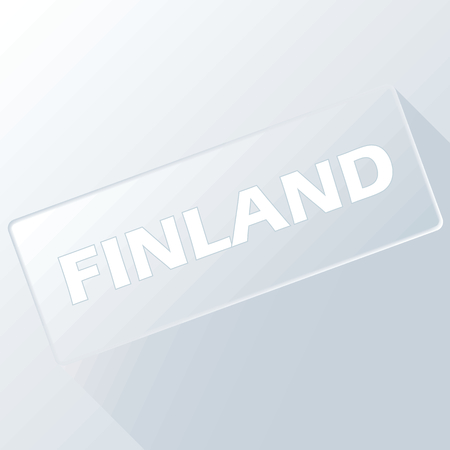 finland: Finland unique button