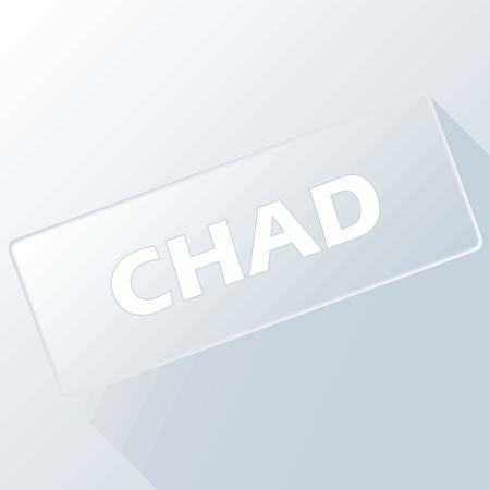 chad: Chad unique button