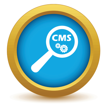 nuance: CMS under loupe icon