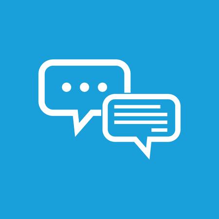 La saisie de texte dans le symbole de dialogue Banque d'images - 39372818