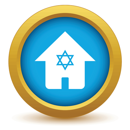 judaica: House with star icon