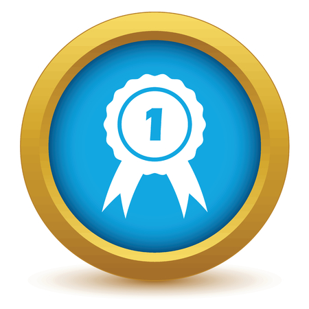 clip art numbers: 1st place icon