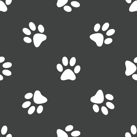 track pad: Paw pattern