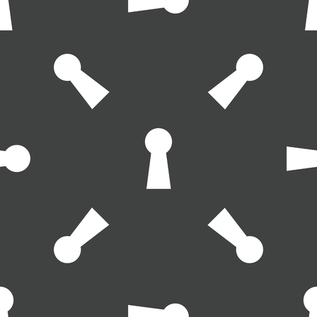 slit: Keyhole pattern Illustration