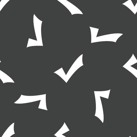 tick mark: Patr�n de marca de Tick Vectores
