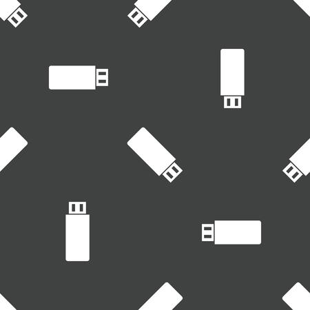 flash drive: USB flash drive pattern Illustration