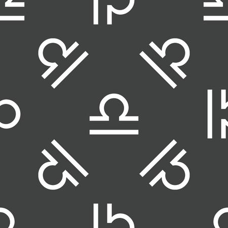 Libra: Libra symbol pattern