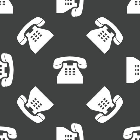 old phone: Old phone pattern