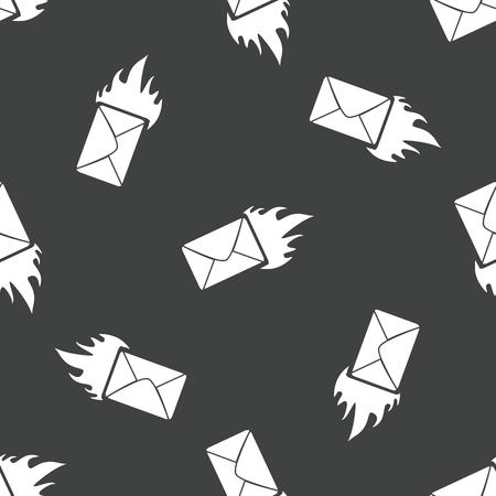 meaningful: Burning envelope pattern