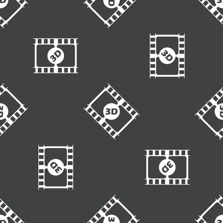 3 d illustration: Film strip pattern