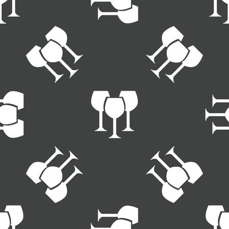 glass pattern: Wine glass pattern