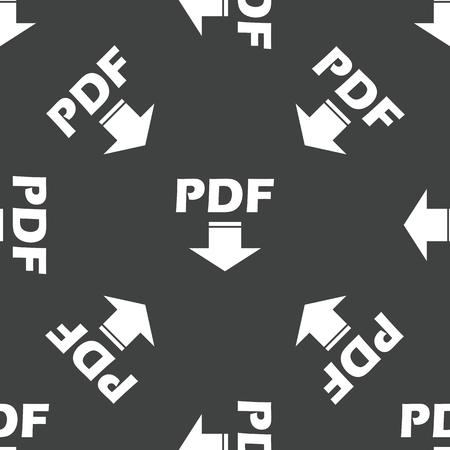 pdf: Pdf download pattern Illustration