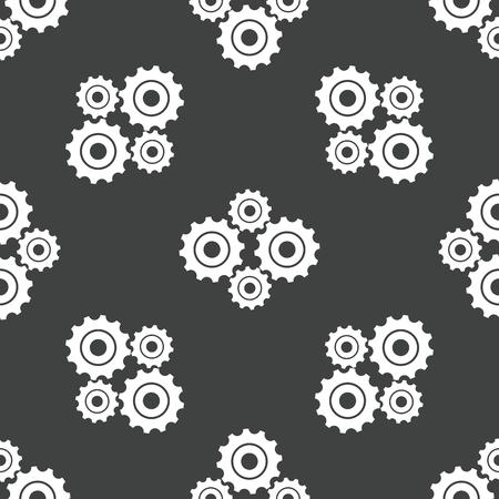 buiseness: Gears pattern Illustration