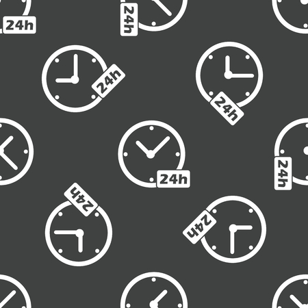계시기: 24 시간 패턴