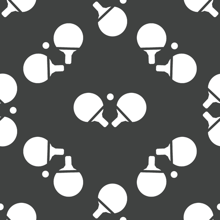 Table tennis racket pattern Vector