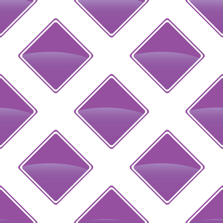 turned: Vector violet turned square image repeated on white background Illustration