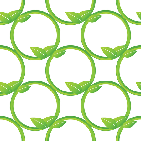 stalks: Net made of plant stalks repeated on white background