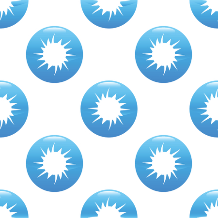 spalsh: Starburst sign pattern