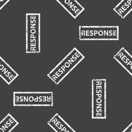response: Rubber stamp RESPONSE pattern