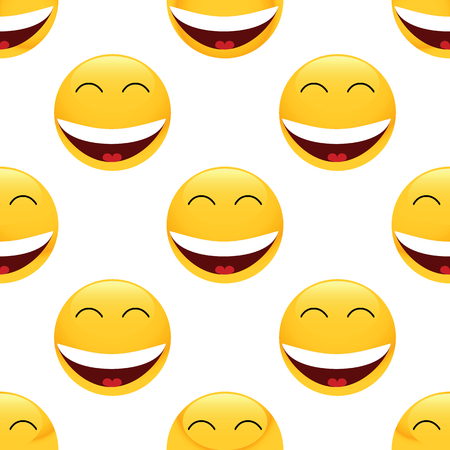 laughing: Laughing emoticon pattern