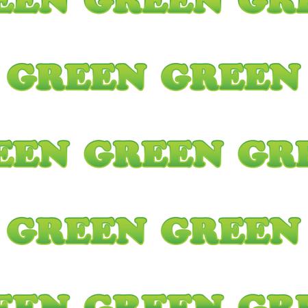 verdant: Word GREEN pattern