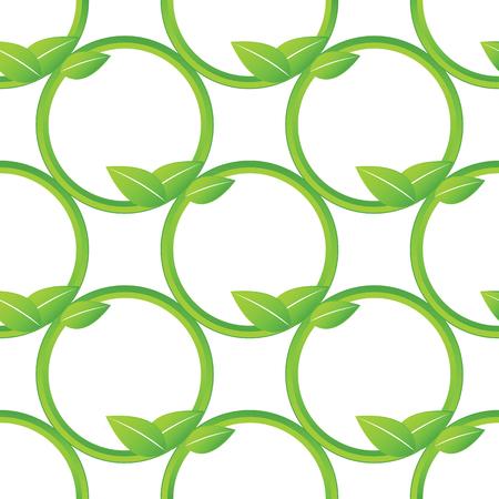 stalks: Net of stalks pattern Illustration