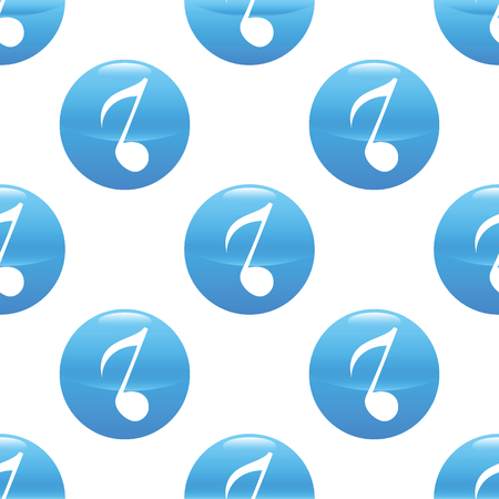 eighth: Eighth note sign pattern