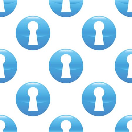 slit: Keyhole sign pattern