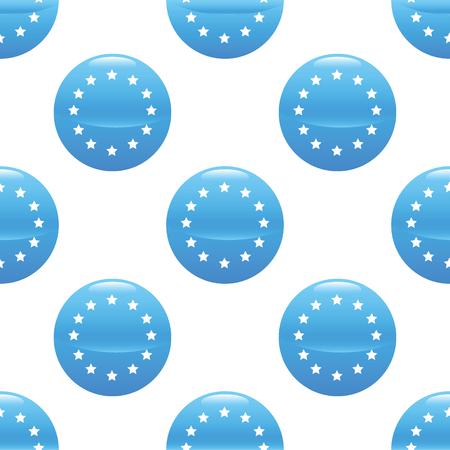 european integration: European union sign pattern Illustration