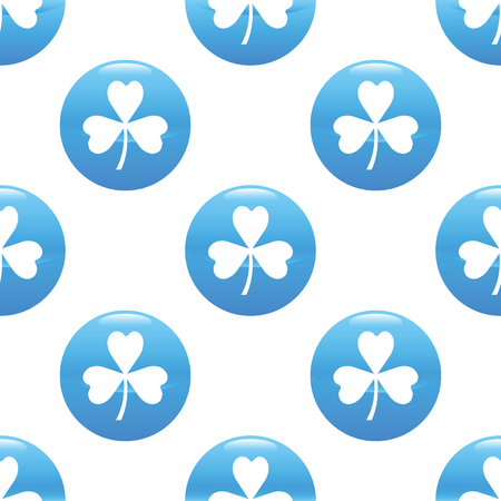 Clover sign pattern Vector