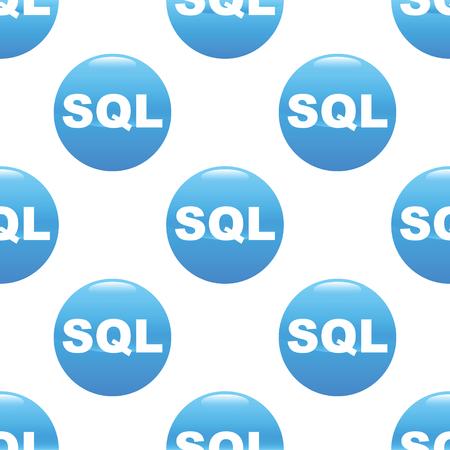 sql: SQL sign pattern Illustration