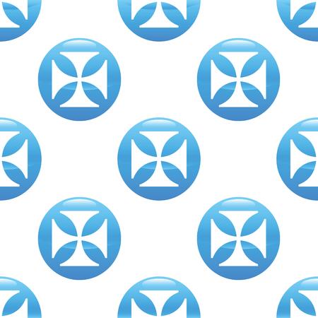 maltese: Maltese cross sign pattern