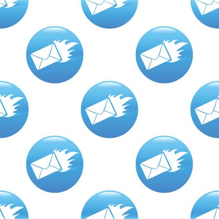 meaningful: Burning envelope sign pattern
