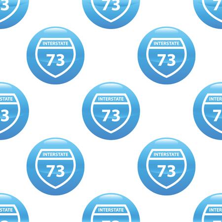 interstate: Interstate 73 sign pattern