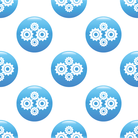 buiseness: Gears sign pattern